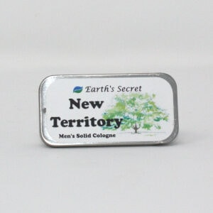 New Territory cologne solid tin