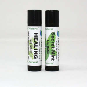 Secret Mint and Healing Lip Balms